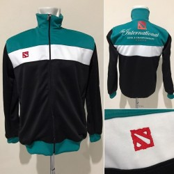 Dota 2 International Black Green Jaket