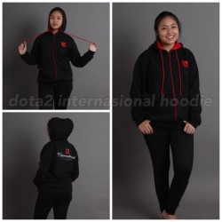 Dota 2 International Black Hoodie