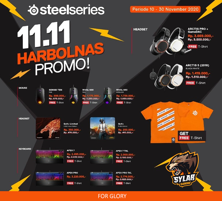 SteelSeries Harbolnas