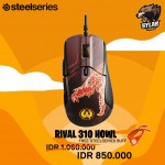 SteelSeries Rival 310 CSGO Howl Limited Edition