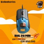 SteelSeries Rival 310 PUBG Limited Edition