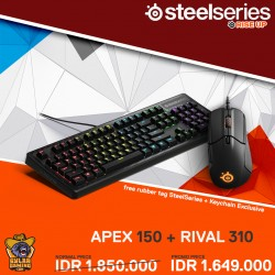 SteelSeries Bundle Apex 150 + Rival 310