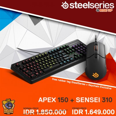 SteelSeries Bundle Apex 150 + Sensei 310